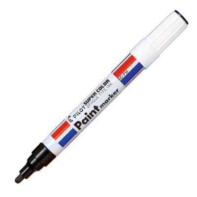 Czarny olejowy marker firmy PILOT.